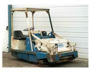 "50"" TENNANT GASOLINE RIDING FLOOR SWEEPER:  STOCK #13724"