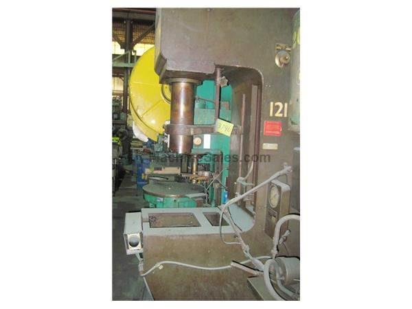 25 TON HANNIFIN C FRAME HYDRAULIC PRESS: STOCK #13746