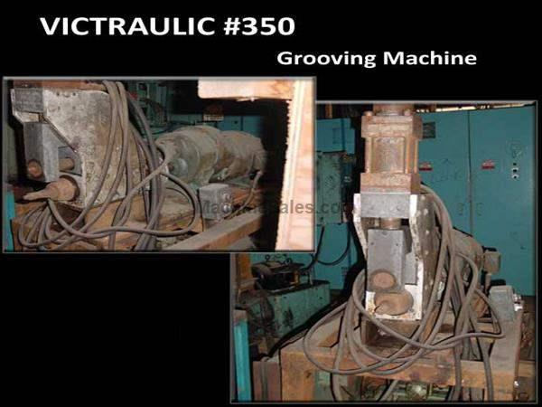 VICTRAULIC GROOVING MACHINE: STOCK #14044