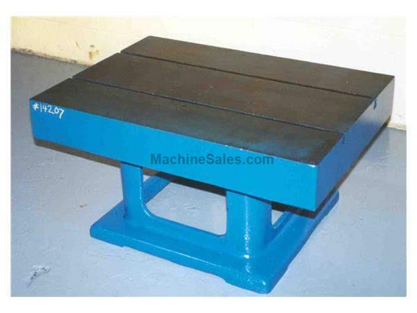 "42"" X 30"" X 20"" NATCO BOX DRILL TABLE:  STOCK #14207"