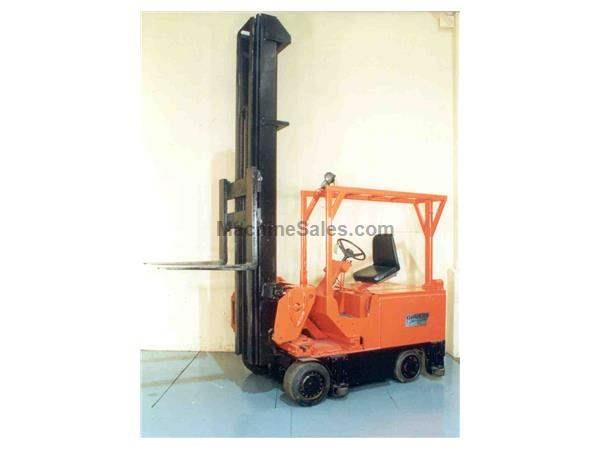 6000 LBS DREXEL SWING MAST ELECTRIC FORKLIFT:  STOCK #15267