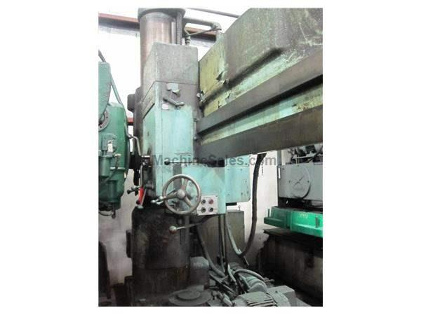 "7' X 17"" AMERICAN RADIAL DRILL:  STOCK #15419"
