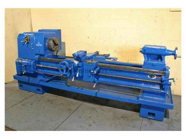 "21-1/2"" X 72"" CINCINNATI ENGINE LATHE:  STOCK #15618"