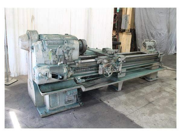 "20"" X 96"" MONARCH ENGINE LATHE:  STOCK #15629"