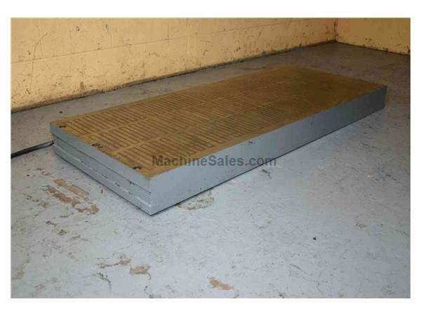 "24"" X 60"" X 4-1/2"" MAGNETIC CHUCK:  STOCK #15827"