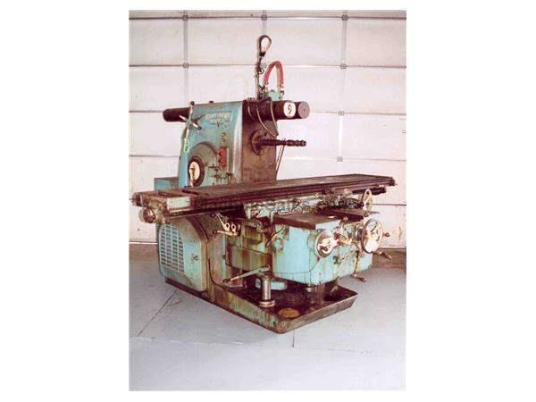 KEARNEY & TRECKER MODEL #425-17 HORIZONTAL MILL: STOCK #15986