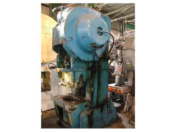 75 TON BLISS MODEL #C75 OBI PRESS: STOCK #16527