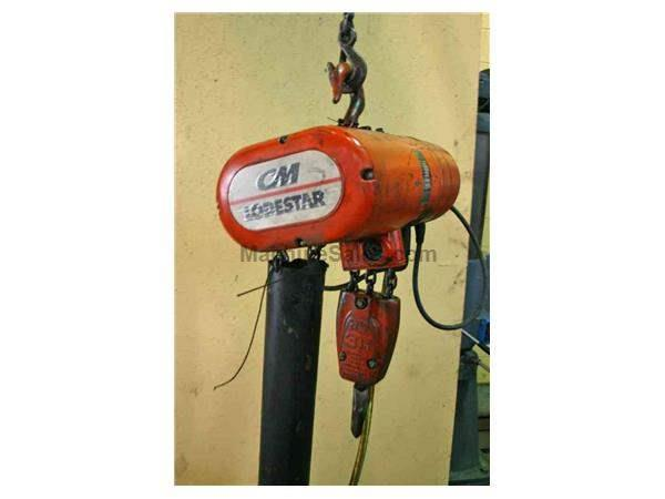 3 TON C & M LOAD LIFTER ELECTRIC HOIST: STOCK #16593