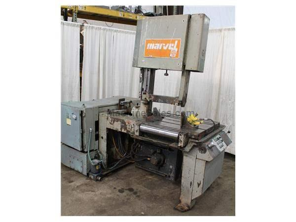 "18"" X 20"" MARVEL MODEL #81 VERTICAL BANDSAW: STOCK #17462"