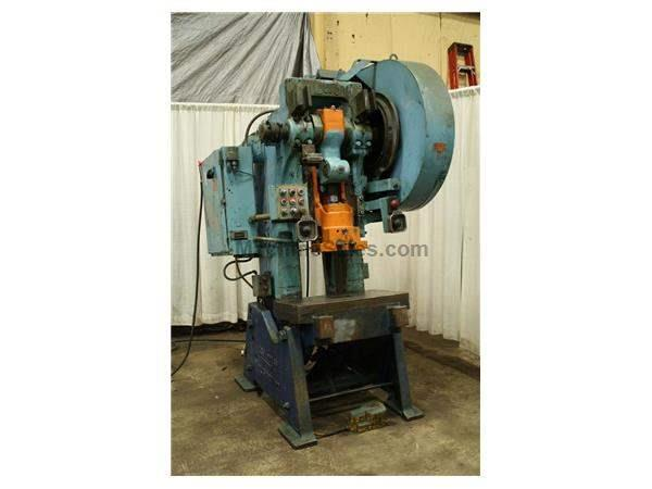 60 TON L & J OBI FLYWHEEL PRESS:  STOCK #18003