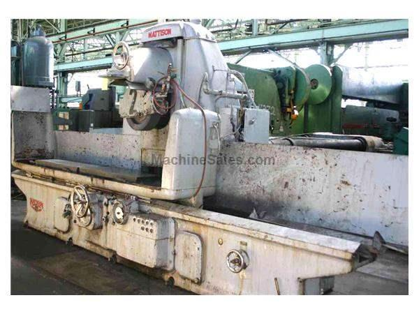 "20"" X 96"" MATTISON HORIZONTAL SURFACE GRINDER: STOCK #18428"