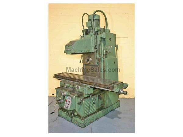 OKK MODEL #MH-3P HORIZONTAL MILL: STOCK #19098