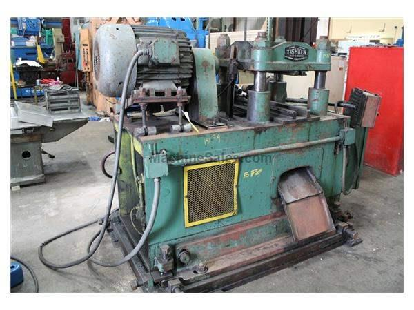 150 TON TISHKEN CUT-OFF PRESS: STOCK #19199