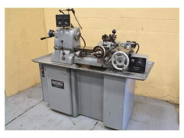 "13"" X 15-1/2"" HARDINGE HIGH SPEED LATHE: STOCK 19210"