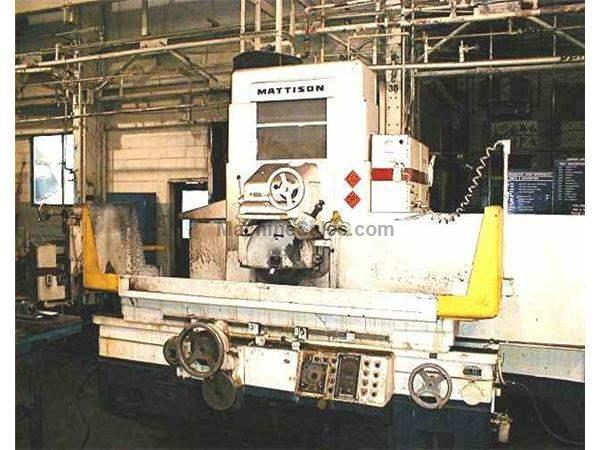 "14"" X 48"" MATTISON SURFACE GRINDER: STOCK #19891"