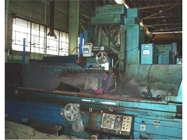 "16"" X 16' MATTISON HORIZONTAL SURFACE GRINDER: STOCK #50562"