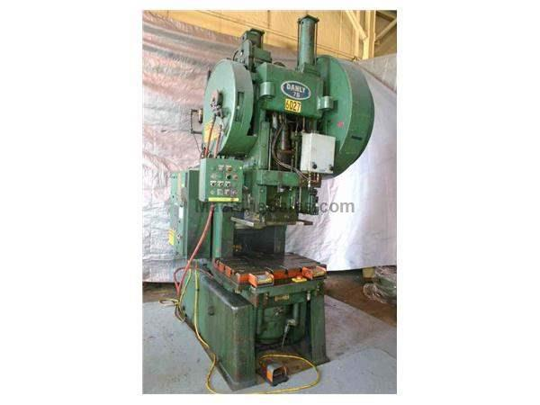 75 TON DANLY BACK GEARED OBI PRESS: STOCK #50690