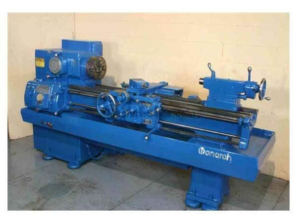 "16"" X 54"" MONARCH ENGINE LATHE: STOCK #50813"