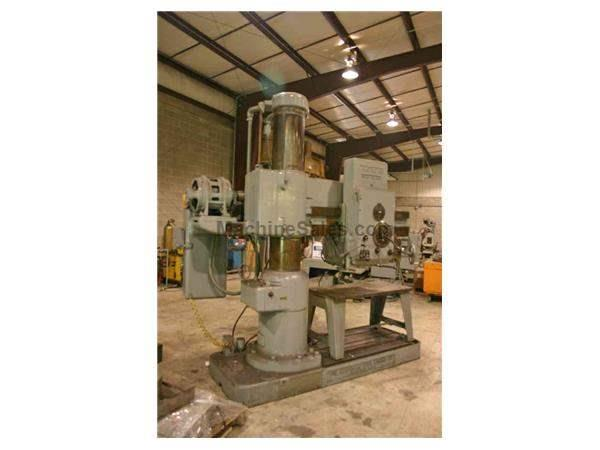 "4' X 13"" AMERICAN RADIAL DRILL: STOCK #50942"