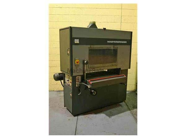 "36"" GRINDINGMASTER PASS THROUGH BELT GRINDER: STOCK #51230"