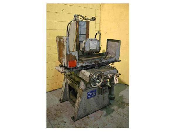 "6"" X 18"" COVEL HYDRAULIC SURFACE GRINDER: STOCK #51603"