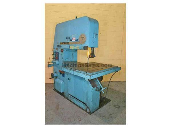 "36"" TANNEWITZ MODEL #3600 MH VERTICAL BANDSAW: STOCK #52148"