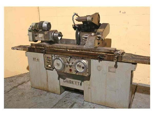 "12"" X 30"" GRISETTI UNIVERSAL CYLINDRICAL GRINDER: STOCK #52176"