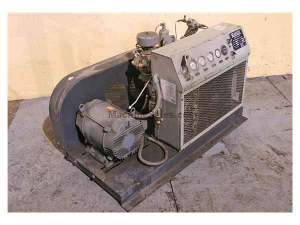 15 HP ATLAS COPCO MODEL 15SABC AIR COMPRESSOR: STOCK #52517