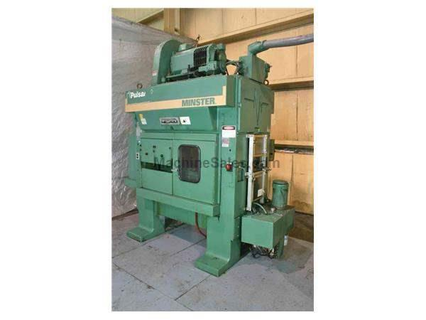 "30 TON MINSTER MODEL #TR2-30 ""PULSAR"" HIGH SPEED SSDC PRESS: STOCK #52673"