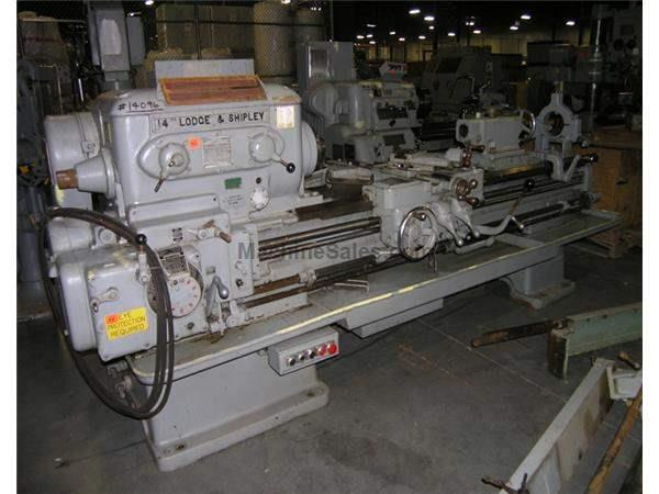 "16"" X 78"" LODGE & SHIPLEY ENGINE LATHE: STOCK #53702"
