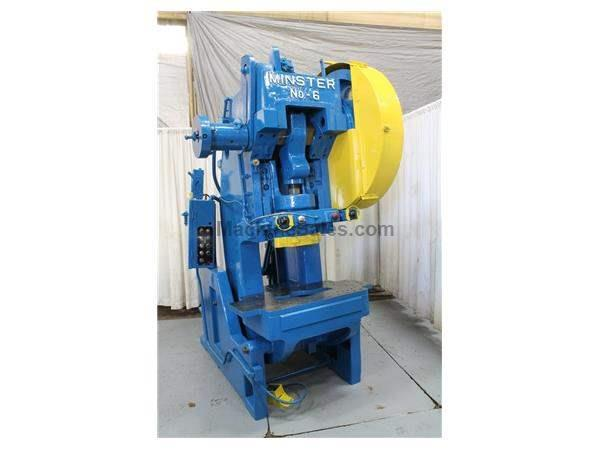 60 TON MINSTER MODEL #6 OBI PRESS: STOCK #53868