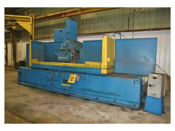 "18"" X 96"" THOMPSON HYDRAULIC HORIZONTAL SURFACE GRINDER: STOCK #53952"