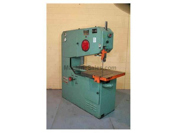 "40"" DAKE JOHNSON VERTICAL BAND SAW: STOCK #54330"