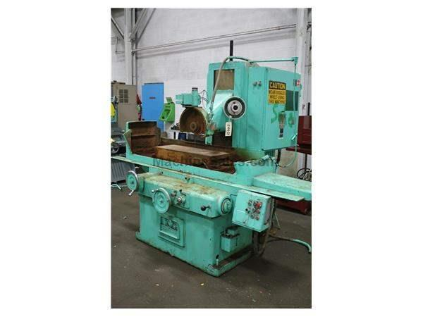 "12"" X 36"" GRAND RAPIDS #550 HORIZONTAL SURFACE GRINDER:  STOCK #54458"