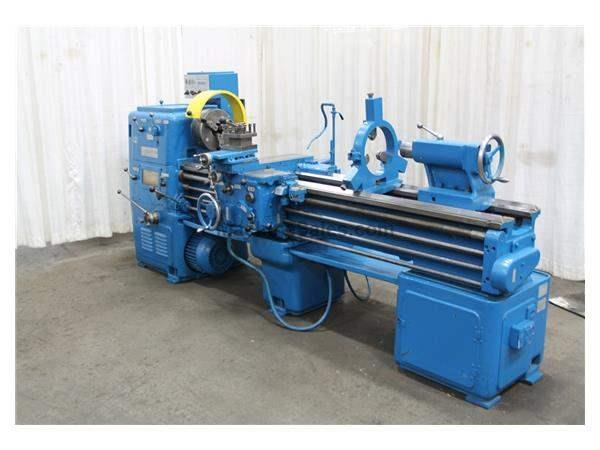 "20"" X 84"" WAFUM ENGINE LATHE: STOCK #54758"