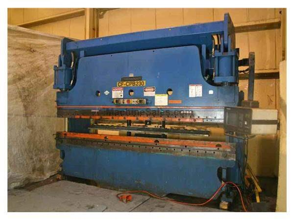 230 TON X 14' CINCINNATI HYDRAULIC PRESS BRAKE: STOCK #56000