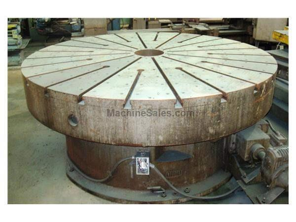 "96"" SWIFT OHIO T SLOTTED ROTARY TABLE: STOCK 56346"