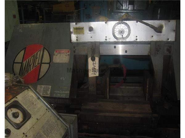 "15"" X 20"" MARVEL MODEL 15A AUTOMATIC HORIZONTAL BANDSAW: STOCK 56489"