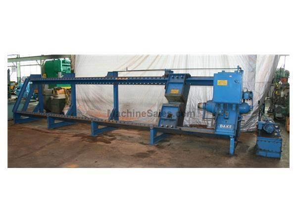 150 TON DAKE WHEEL PRESS: STOCK #56640