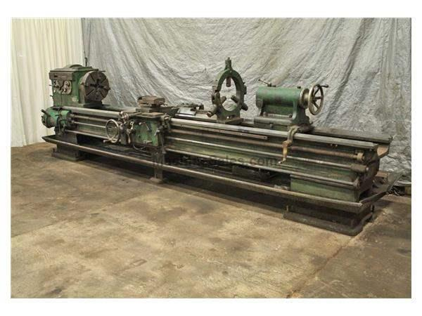 "24"" X 160"" LEHMANN ENGINE LATHE: STOCK #56687"