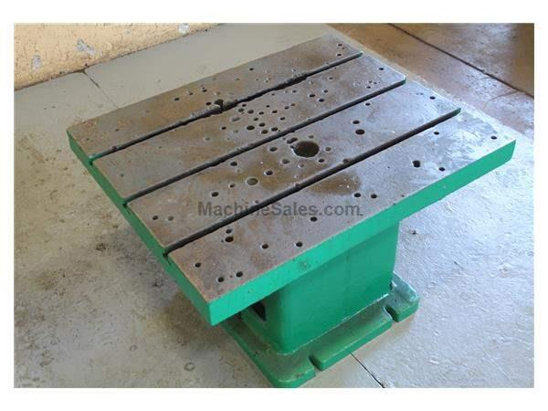 "36"" X 30"" X 20 T SLOTTED DRILL TABLE: STOCK #57205"