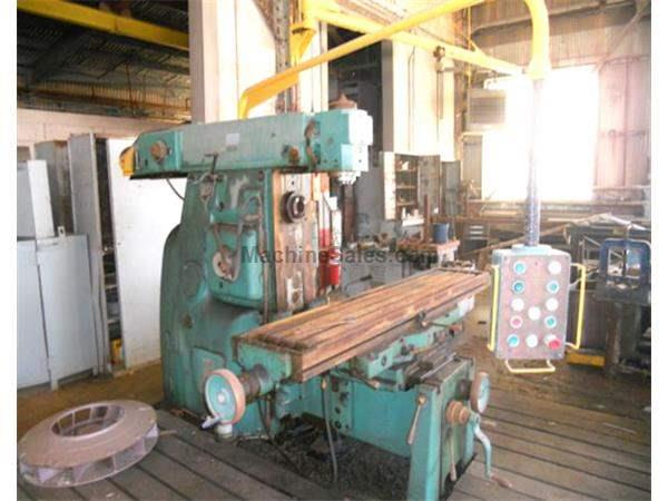 # 4 POLAMCO HORIZONTAL/VERTICAL MILL: STOCK #57501