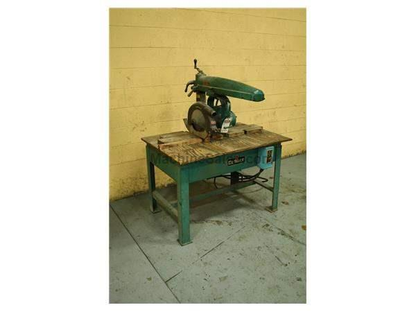 "10"" DEWALT MODEL #GA RADIAL ARM SAW:  STOCK #57738"