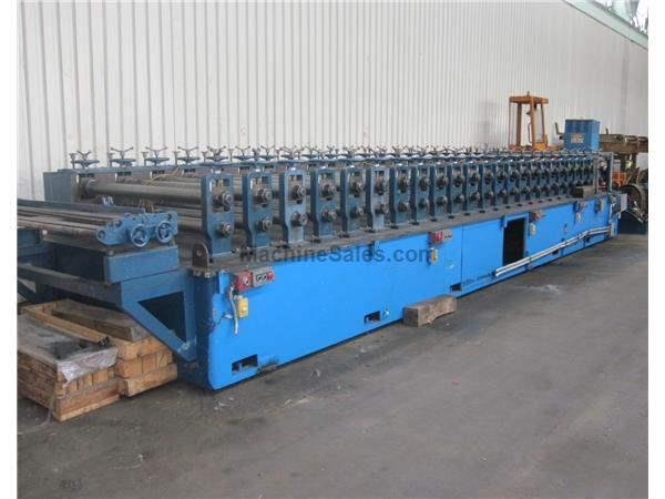 "24 STAND X 4"" ARBOR X 60"" ASC ROLLFORMING LINE: STOCK #58566"
