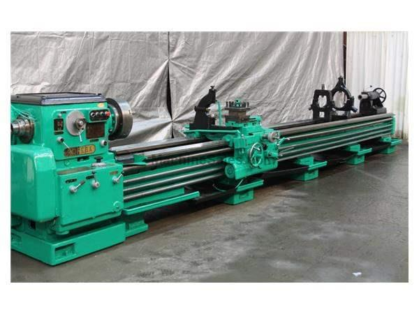 "28"" X 244"" POREBA MODEL #TR70B ENGINE LATHE: STOCK #58619"