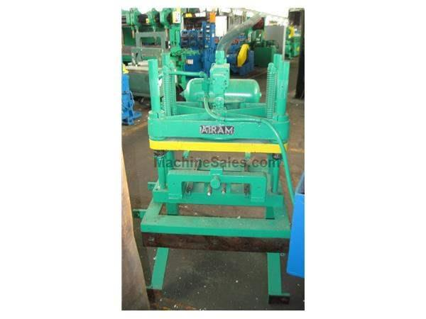 7 TON AIRAM CUTOFF PRESS:  STOCK #58779