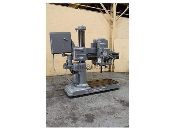 "4' X 9"" AMERICAN RADIAL DRILL: STOCK # 58900"