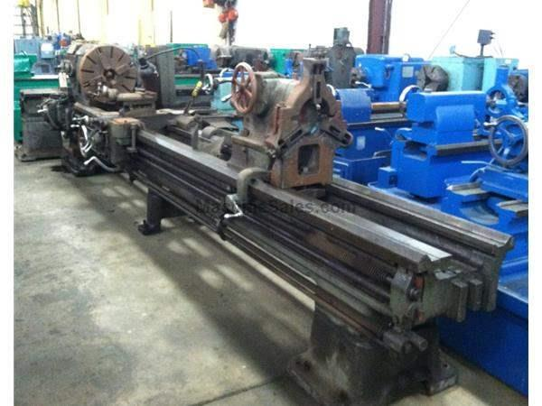 "28"" X 168 LODGE & SHIPLEY ENGINE LATHE: STOCK #58997"