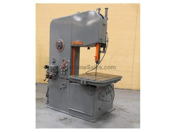 "26"" DOALL VERTICAL(BANDMILL) BANDSAW: STOCK 59046"
