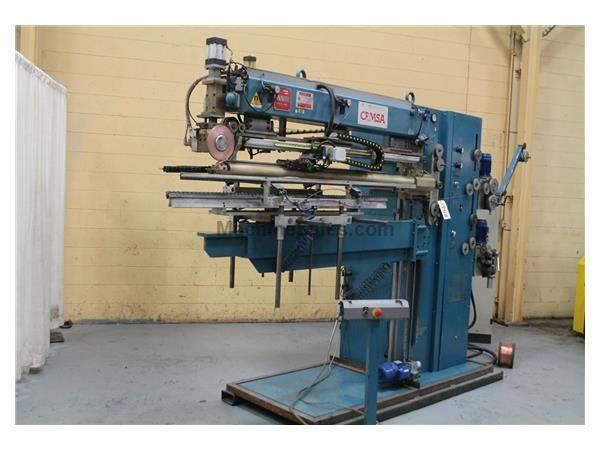 "61"" X 35"" CEMSA MODEL #MRL75F 75 KVA SEAM WELDER:  STOCK #59368"